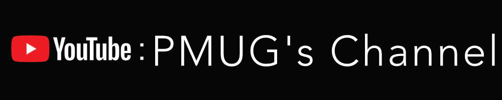 PMUG You Tube Channel Banner
