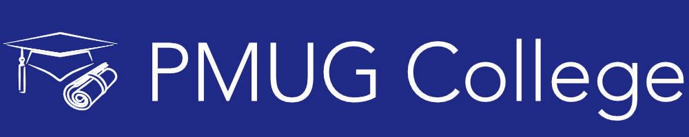 PMUG College Banner